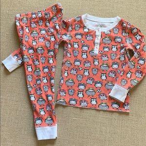 Roller Rabbit snug fit pajamas, owl print